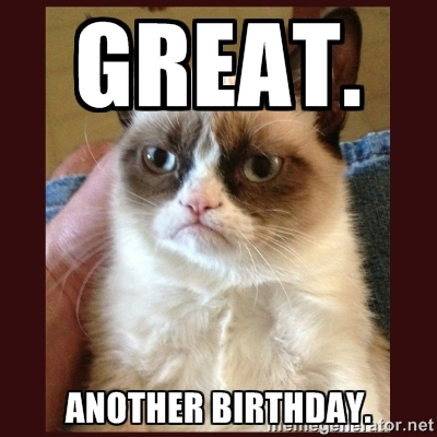 My thoughts exactly, Grumpy Cat. My thoughts exactly. No, really!
