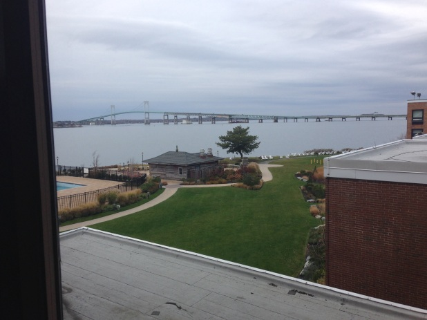 A little cloudy, but not a bad view for the next few days- more on NASPA R1 on Monday!