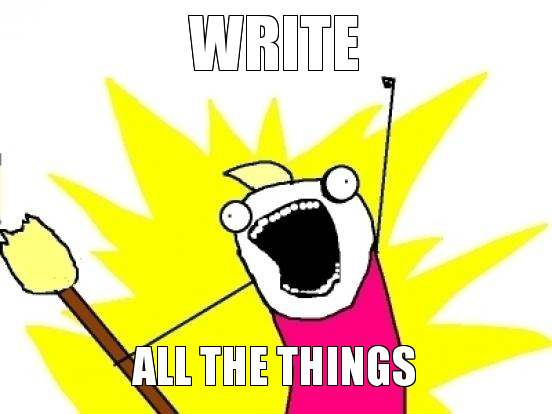 Write-All-The-Things